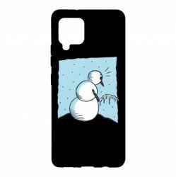 Чохол для Samsung A42 5G Snowman. It's Cold!