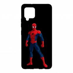 Чохол для Samsung A42 5G Spiderman in costume
