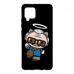 Чохол для Samsung A42 5G Stan lee in hello kitty style