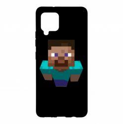 Чехол для Samsung A42 5G Steve from Minecraft