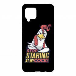 Чехол для Samsung A42 5G Stop  Staring  at My cock