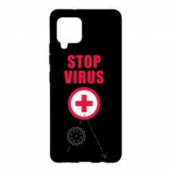 Чохол для Samsung A42 5G Stop virus