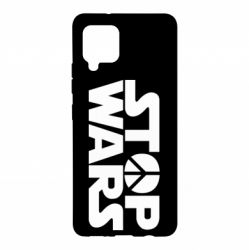 Чехол для Samsung A42 5G Stop Wars peace