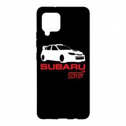 Чохол для Samsung A42 5G Subaru STI