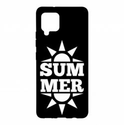 Чехол для Samsung A42 5G Summer and sun