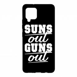 Чехол для Samsung A42 5G Suns out guns out