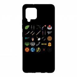 Чохол для Samsung A42 5G Superhero Icon Set