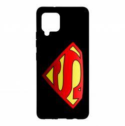 Чехол для Samsung A42 5G Superman Logo