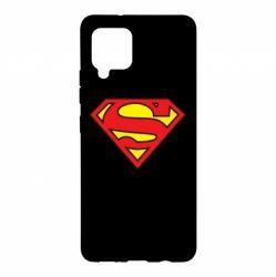 Чехол для Samsung A42 5G Superman Symbol