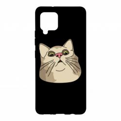 Чехол для Samsung A42 5G Surprised cat