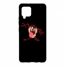 Чехол для Samsung A42 5G Таз Тасманский дьявол