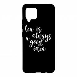 Чохол для Samsung A42 5G Tea is always a good idea