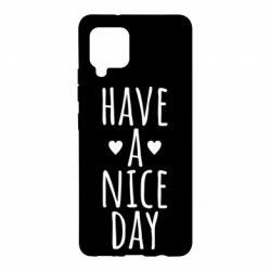 "Чохол для Samsung A42 5G Text: ""Have a nice day"""
