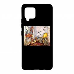 Чохол для Samsung A42 5G The atmosphere of Halloween in the house