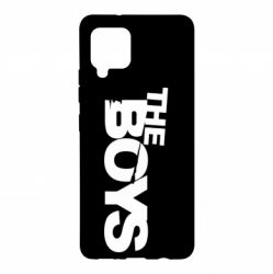 Чехол для Samsung A42 5G The Boys logo