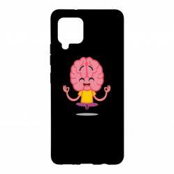 Чохол для Samsung A42 5G The brain meditates