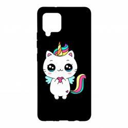 Чохол для Samsung A42 5G The cat is unicorn