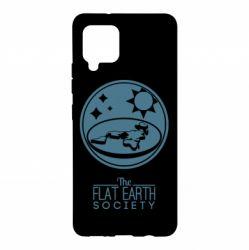 Чохол для Samsung A42 5G The flat earth society