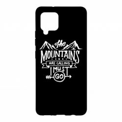 Чохол для Samsung A42 5G The mountains are calling must go