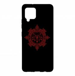 Чохол для Samsung A42 5G The Witcher Wolf and Pattern