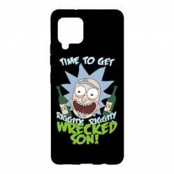Чохол для Samsung A42 5G Time to get riggity wrecked son