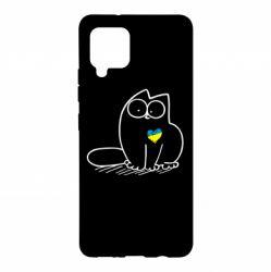 Чохол для Samsung A42 5G Типовий український кіт