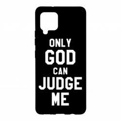 Чохол для Samsung A42 5G Тільки Бог може судити мене