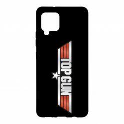 Чохол для Samsung A42 5G Top Gun Logo