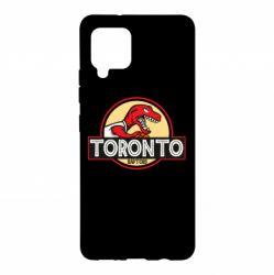 Чохол для Samsung A42 5G Toronto raptors park
