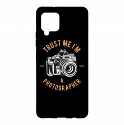 Чохол для Samsung A42 5G Trust me i'm photographer