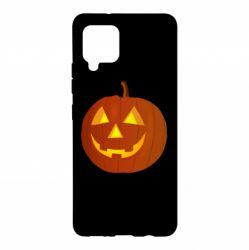 Чохол для Samsung A42 5G Тыква Halloween