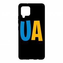 Чехол для Samsung A42 5G UA Blue and yellow