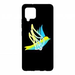 Чохол для Samsung A42 5G Україна Ластівка