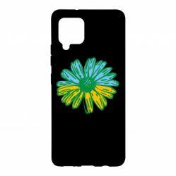 Чехол для Samsung A42 5G Українська квітка