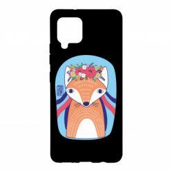 Чохол для Samsung A42 5G Українська лисиця