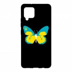Чехол для Samsung A42 5G Український метелик