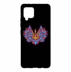 Чохол для Samsung A42 5G Український тризуб арт