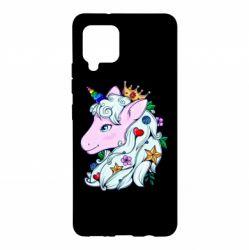 Чохол для Samsung A42 5G Unicorn Princess