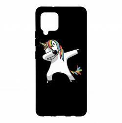 Чехол для Samsung A42 5G Unicorn SWAG