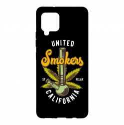 Чохол для Samsung A42 5G United smokers st relax California