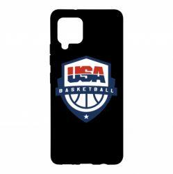 Чохол для Samsung A42 5G USA basketball