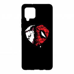 Чехол для Samsung A42 5G Venom and spiderman