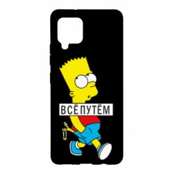 Чохол для Samsung A42 5G Всі шляхом Барт симпсон