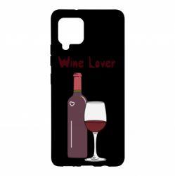 Чохол для Samsung A42 5G Wine lover