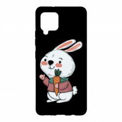 Чохол для Samsung A42 5G Winter bunny