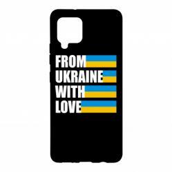 Чохол для Samsung A42 5G With love from Ukraine