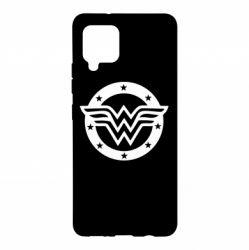 Чохол для Samsung A42 5G Wonder woman logo and stars