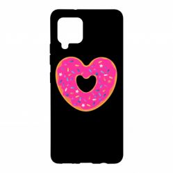 Чехол для Samsung A42 5G Я люблю пончик