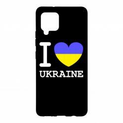 Чохол для Samsung A42 5G Я люблю Україну