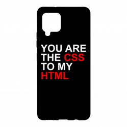 Чехол для Samsung A42 5G You are CSS to my HTML